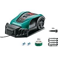 Bosch tondeuse robot connectée Indego 350 Connect (avec application dédiée, largeur de coupe de 19 cm, superficie de pelouse jusqu'à 350 m²)