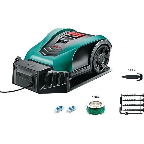 Bosch Indego 350 Connect - Cortacésped robot (con función de app, conectividad, ancho