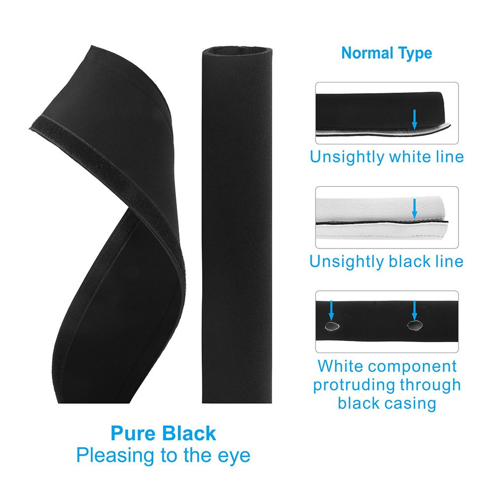 Amazon.com: Cable Management Sleeve - Computer Cord Organizer System ...