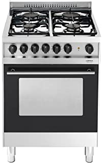 Lofra M66MF/C Cucina a Gas, Acciaio: Amazon.it: Casa e cucina