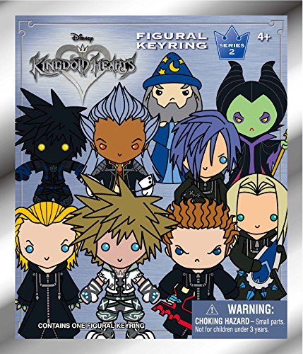 Disney Kingdom Hearts Series 2 - 3D Key Ring Collectible Blind Bag Key Accessory