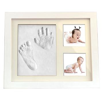 Cusfull Baby Handabdruck Fussabdruck Foto Rahmen Bilderrahmen Diy Set
