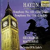 "Haydn: Symphony No. 101 ""The Clock / Symphony No. 104 ""London"""