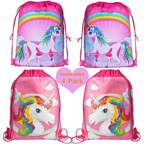 ad533fcb8de4 Jual Unicorn Drawstring Shoulder Backpack Bags Bulk for Kids ...