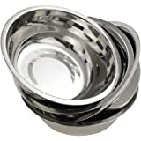 Nicesh Mixing Bowl Set, Stainless Steel Bowls Set, Pack for 4