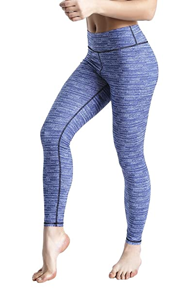 ecc37a5c343a36 COOleggings Ladys Digital Print Workout Legging Performance Run Tights Blue  XS