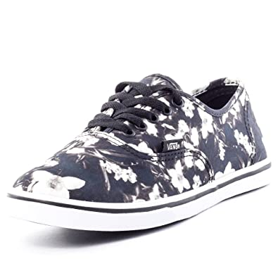 1ee9fc19e1 Vans Blurred Floral Authentic Lo Pro Womens Trainers  Amazon.co.uk  Shoes    Bags