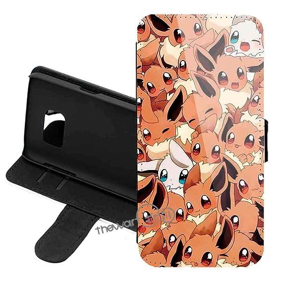 save off d2499 92ce1 Amazon.com: Samsung Galaxy Note 9 Case Cover, Pokemon Pikachu PU ...