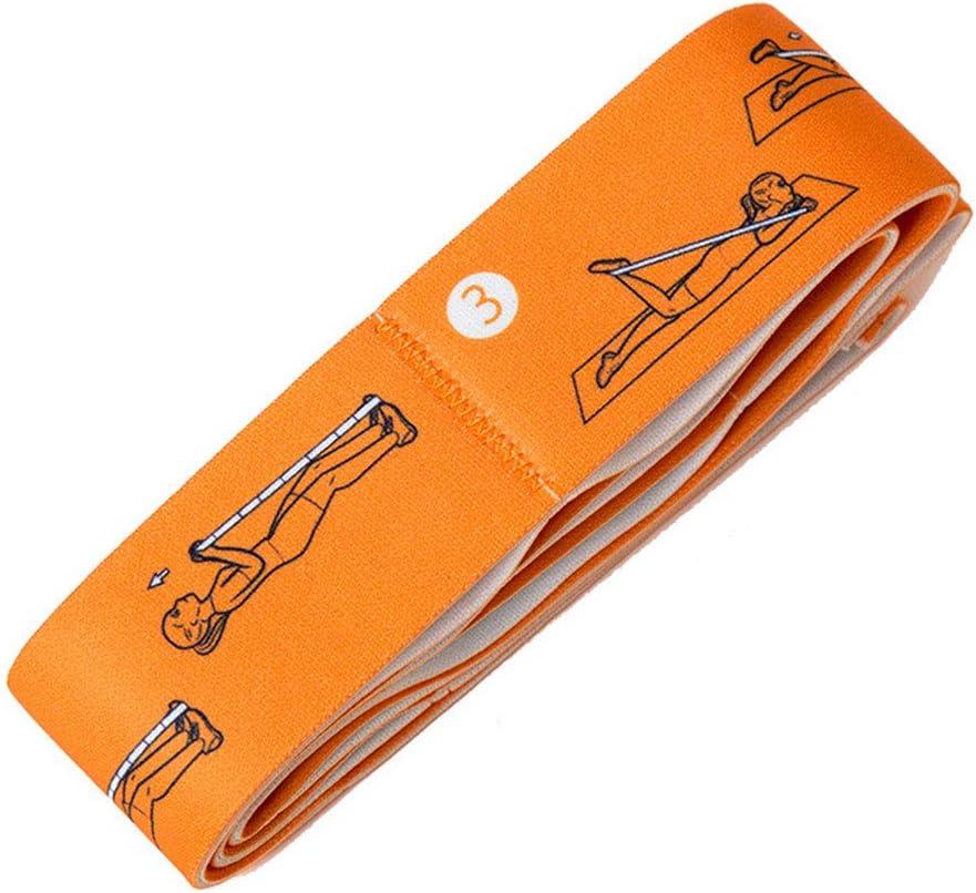 GFYEE Elastiband Bande /Élastique de R/ésistance Bandes /Élastiques en Latex pour Fitness Stretching Gym Calisthenics et Plus