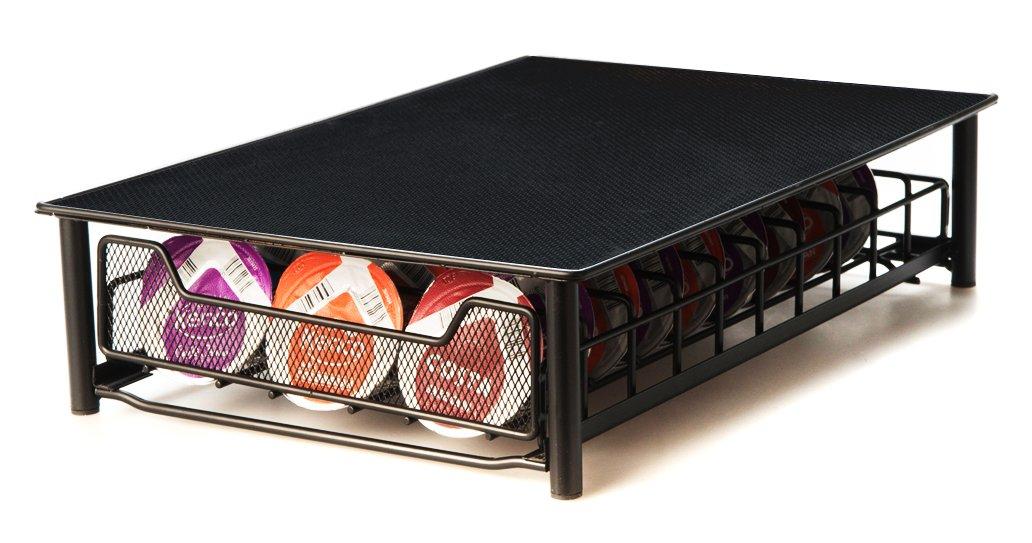 Cassetto porta capsule con intelaiatura di supporto per 56 capsule
