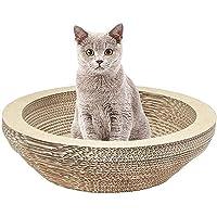 Cat Scratching Lounge Board Corrugated Cardboard Scratcher Cat Scratch Pad Post Sharpen Claws Pet Toy Large(L)