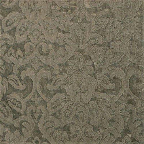 Swatch Sample Fabric Robert Allen Beacon Hill Garden Mist Fog 100% Silk Sheer Drapery ()
