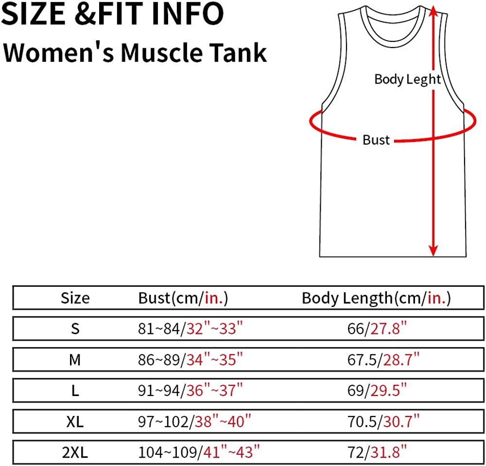 WINGZOO Womens Workout Tank Tops-Novelty Funny Saying Humor Fitness Gym Squat Racerback Sleeveless Shirts for Women