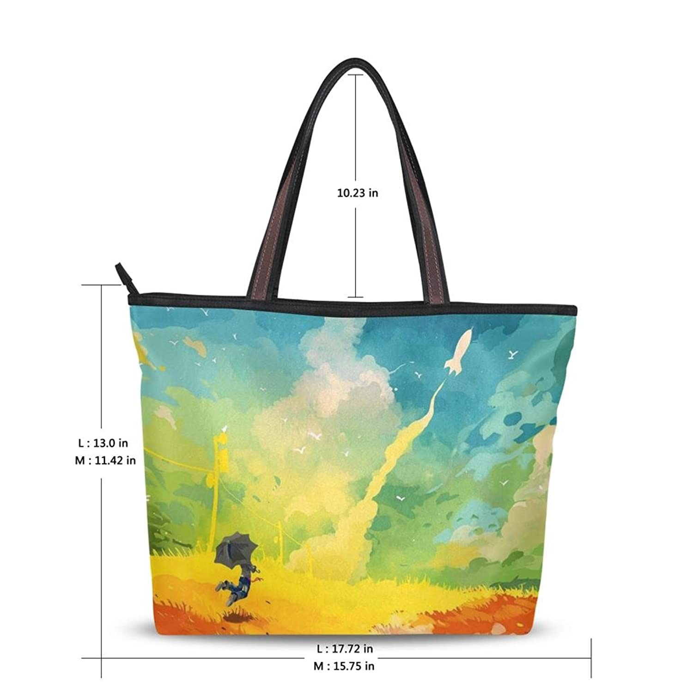 Women's New Fashion Handbag Shoulder Bags 2016,Abstract Graffiti Design,Tote Bag