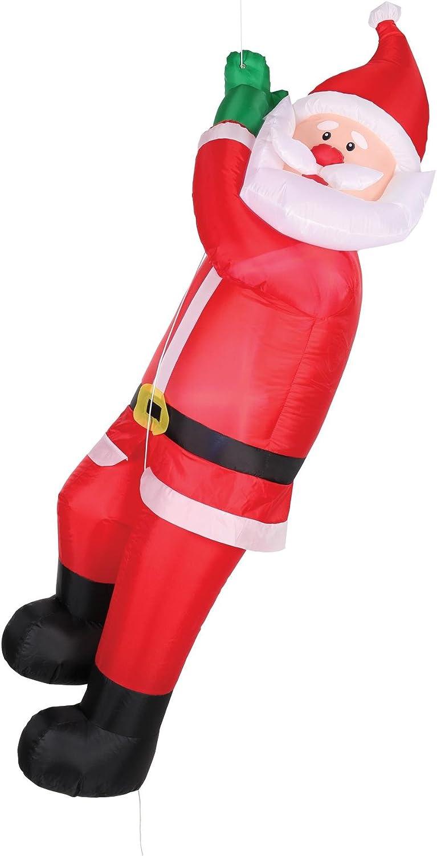 Morris Costumes - Animated Climbing Santa
