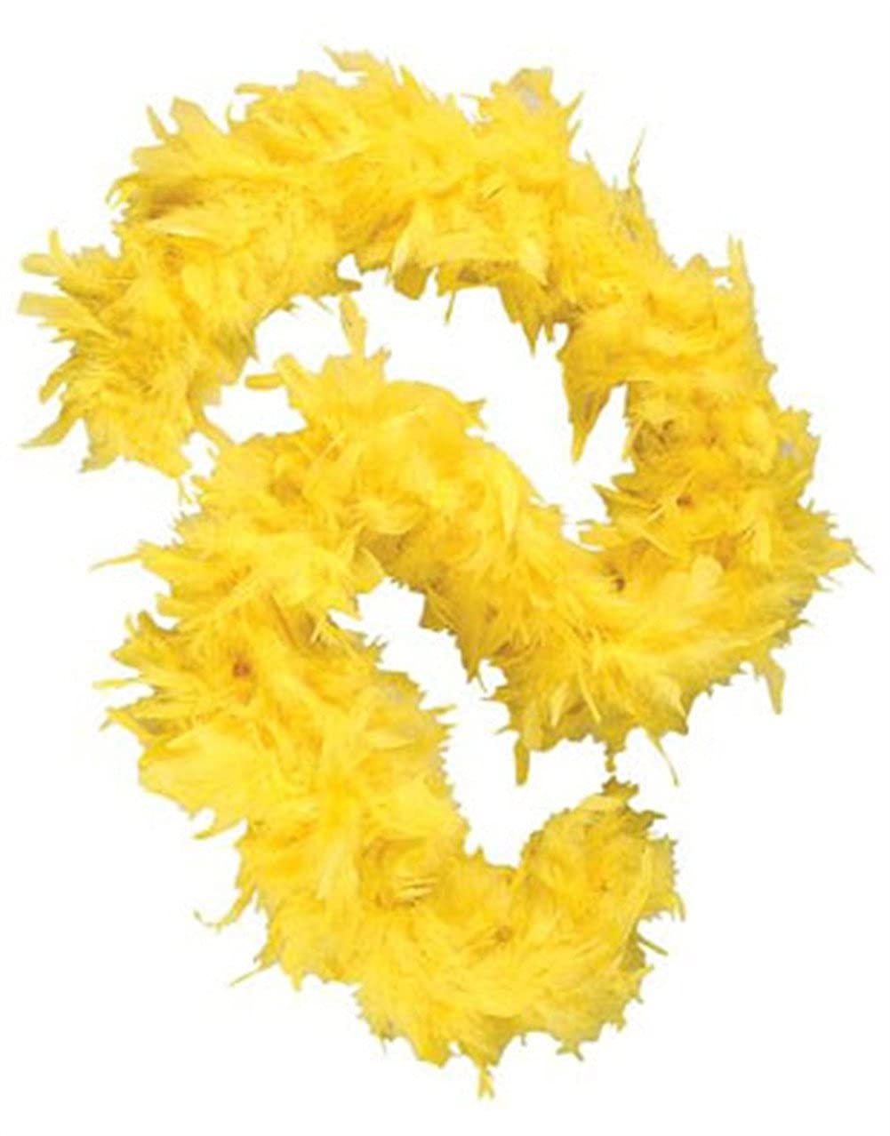 Deluxe Large Yellow 72 Costume Accessory Feather Boa [Apparel] Hayes Specialties Corp. 15727