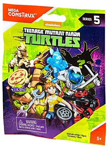 Mega Bloks Teenage Mutant Ninja Turtles TMNT Series 1 Mystery Box(Assorted Series) -