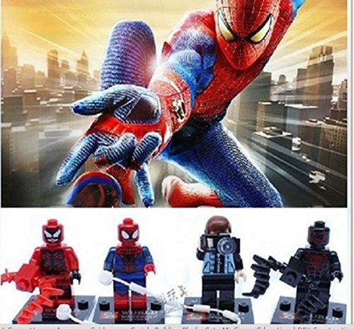 8pcs/lot Super Hero Avengers Spider man Minifigure Series Building Blocks Sets Toy Compatible With Lego (In Original BOX)