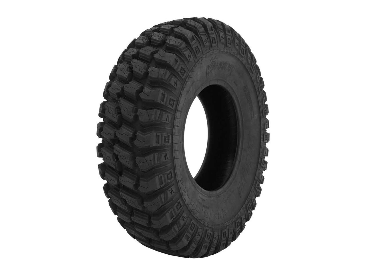 SuperATV A/T Warrior Road Tire - DOT Approved - RZR, X3, General, Maverick, Ranger, Rock & All Terrain UTV - 30'' - Standard by SuperATV.com