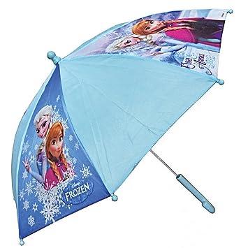 GUIZMAX Paraguas Disney Frozen Niña Frozen Azul