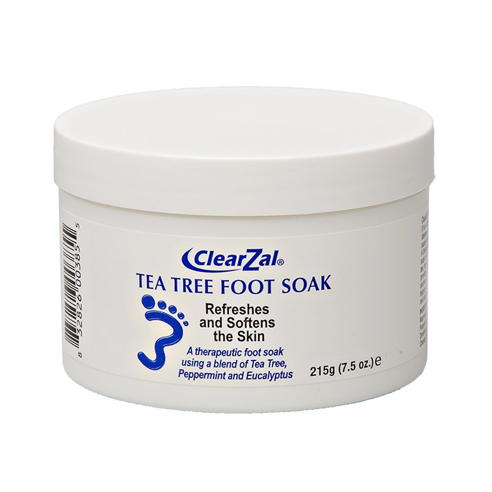 ClearZal Silk Tea Tree Foot Soak 215g CZSOAK