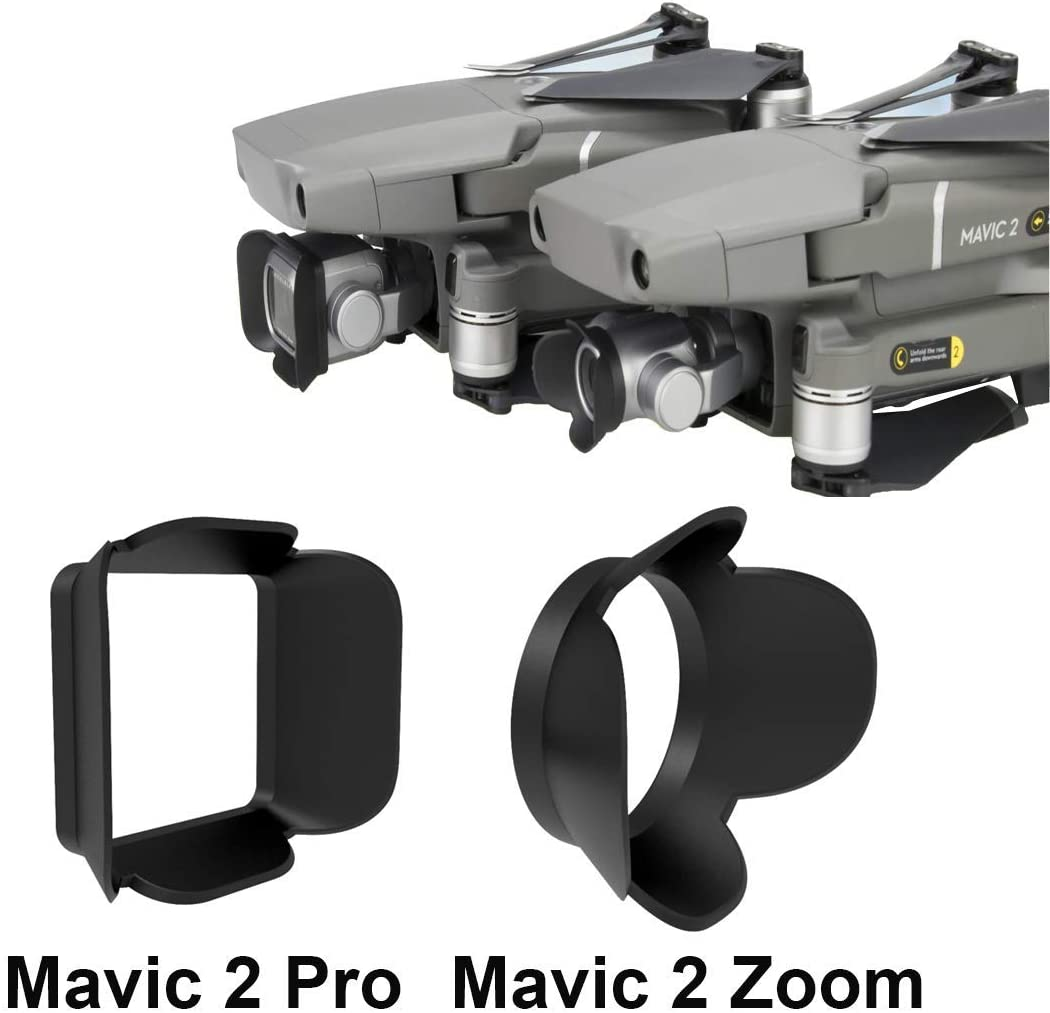 Gimbal Cover Camera Protector Guard for DJI Mavic 2 Accessories 2 PCS Drone Lens Hood Sun Shade for DJI Mavic 2 Pro Mavic 2 Zoom Mavic 2 Zoom
