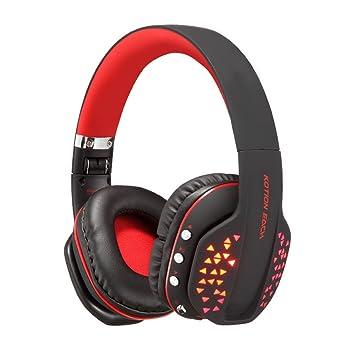 Fucan KOTION EACH B3507 - Auriculares Bluetooth para iPhone, Xiaomi, PC, MP3, música: Amazon.es: Electrónica