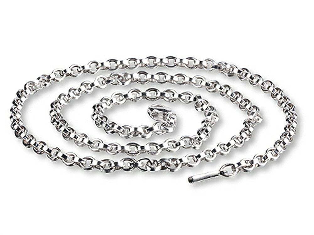 SilveRado Verado Necklace Sterling Silver Charm Necklace 60cm 23.70 inches
