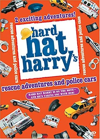 Hard Hat Harry: Rescue Adventures and Police Cars (Police Car Dvd)