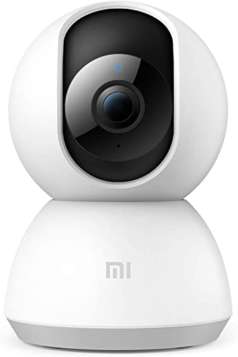 Mi Smart Security Camera 360° 1080p Full HD WiFi 360° Viewing Area Night Vision