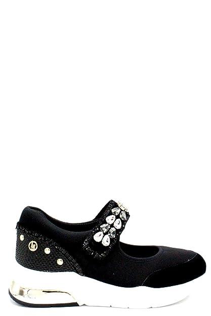 Liu Jo Shoes Woman Sneakers Sandal Lily Black B18011T203622222 Size 35 Black 04ddc3a94da