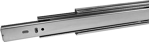 Extension complète 35kg* Capacité 550 mm Roulement à billes tiroir Coulisse