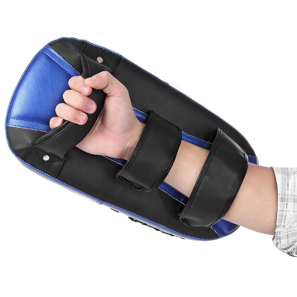Blue GreenDream Square Boxing Pad Punching Bag Karate Sparring Thai Training Foot Target Gear
