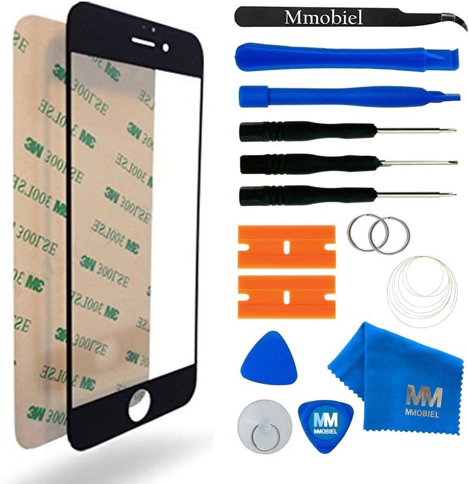 MMOBIEL Kit de Reemplazo de Pantalla Táctil Compatible con iPhone 6 / 6S 4,7 Pulg. Series (Negro) Incl. Kit Herramientas