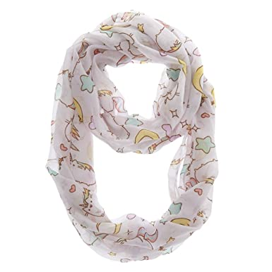 fb6a60558f Amazon.com  Claire s Girl s Pusheen Unicorn Infinity Scarf  Claire s ...