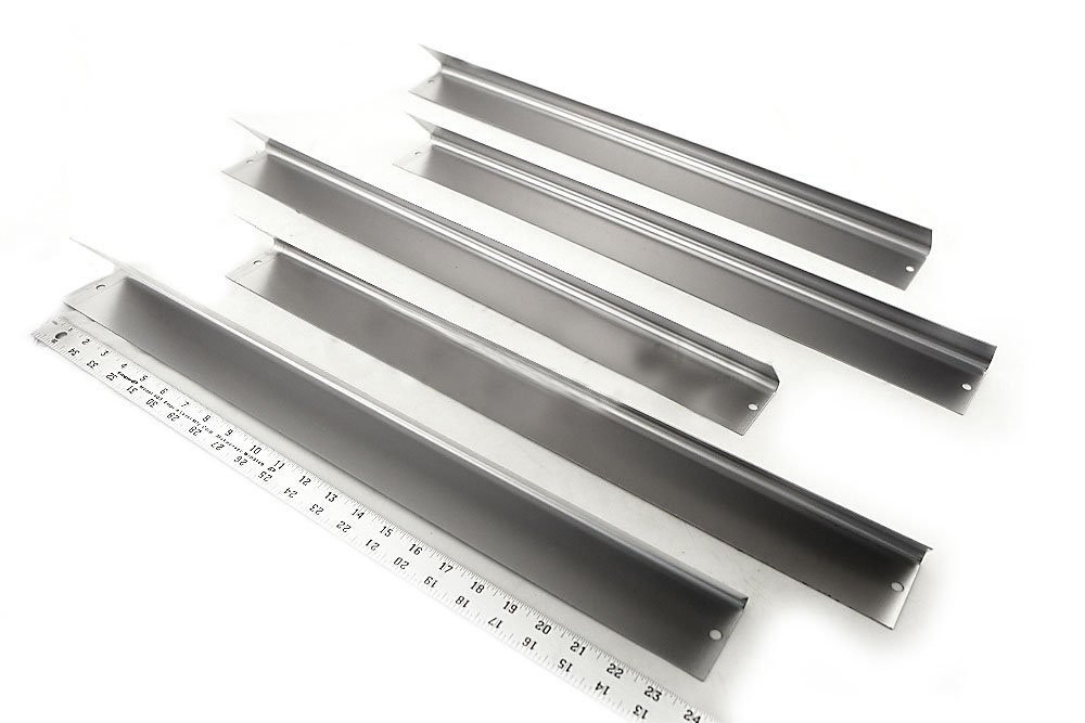 Bar.b.q.s Replacement Flavorizer Bars 7539 7540, Set of 5 Weber Replacement Stainless Steel Flavorizer Bars Heat Plate