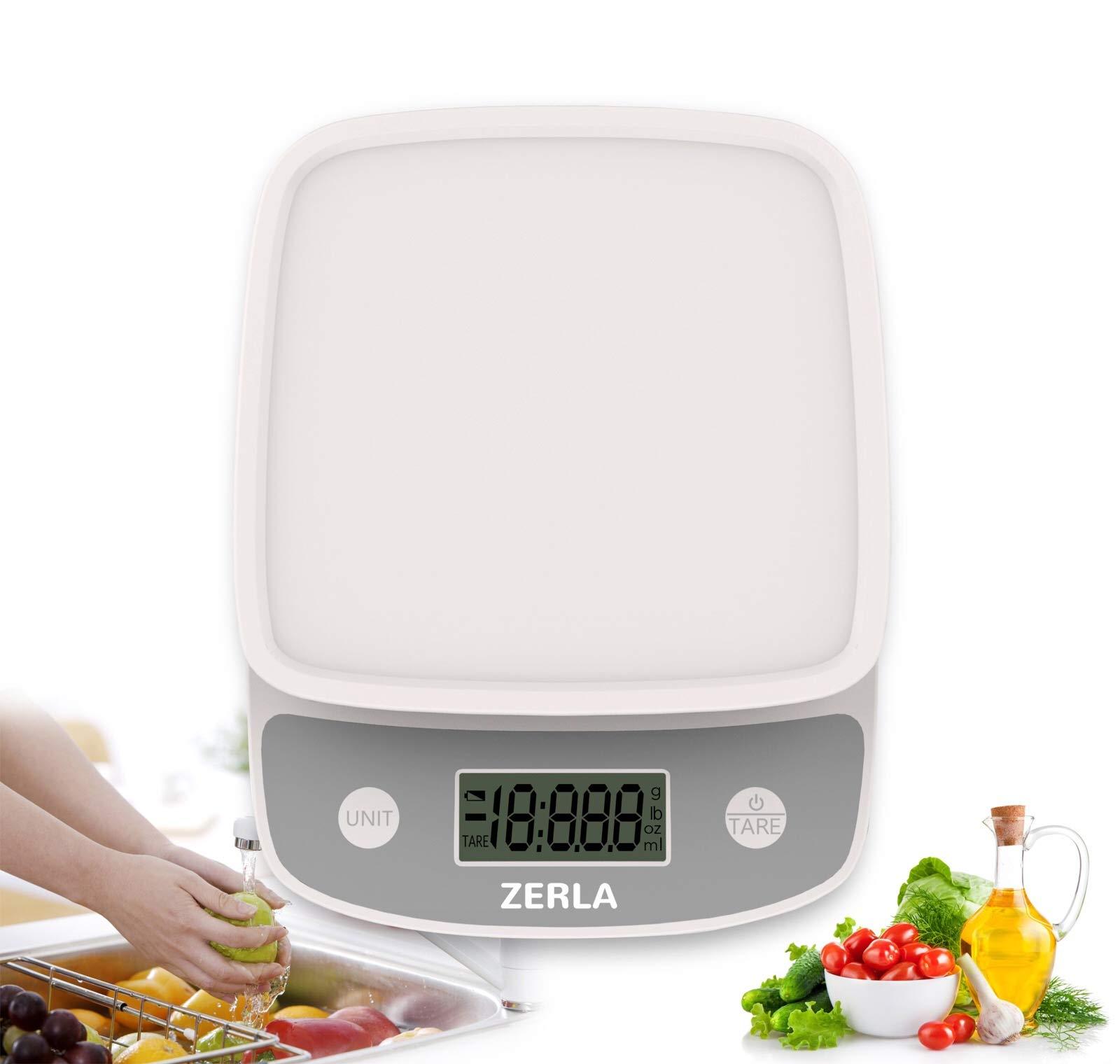 Galleon - Digital Kitchen Scale By Zerla — Versatile Food ...