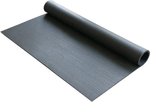 Rubber-Cal Rubber Anti-Vibration Mat – 1 4 x 4ft Wide x 5ft Long – Black Washing Machine Vibration Mat