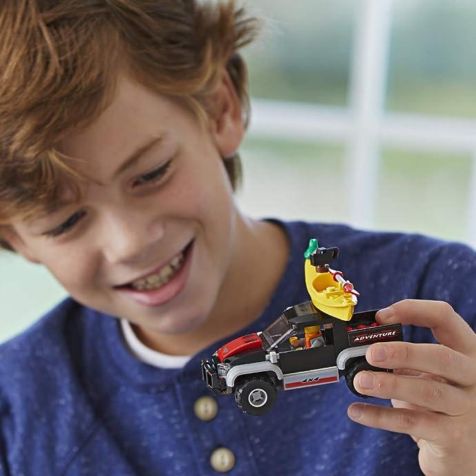 适合凑单 LEGO 乐高 60240 城市系列 划艇探险 积木玩具 6折$5.99史低 海淘转运到手约¥54