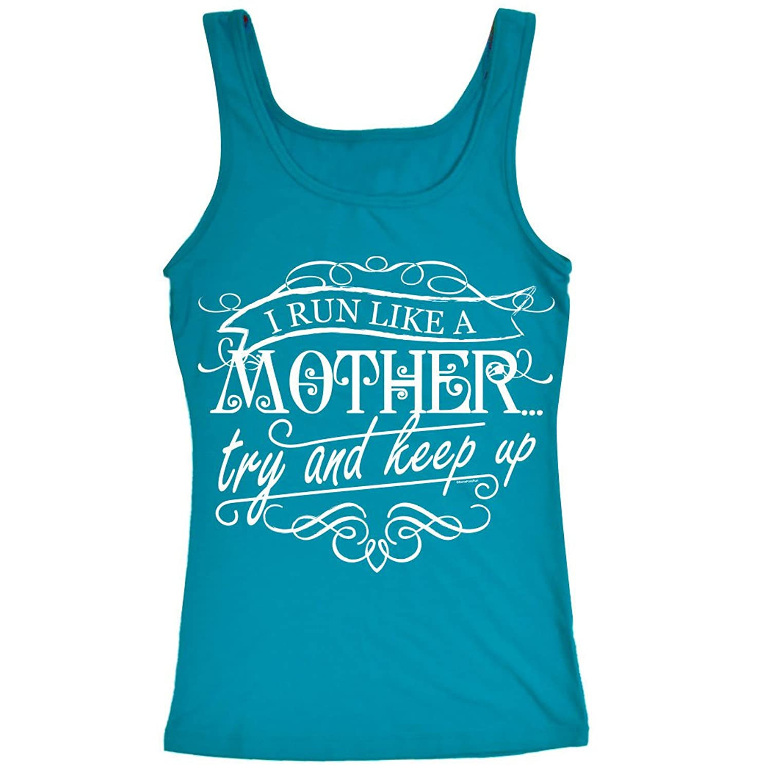 Womens Athletic Tank Top Like a Mother