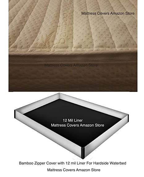 Amazon.com: Funda de colchón con cierre y maletero & Premium ...