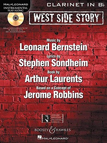 - West Side Story Clarinet in Bb BK/CD Instrumental Play-Along