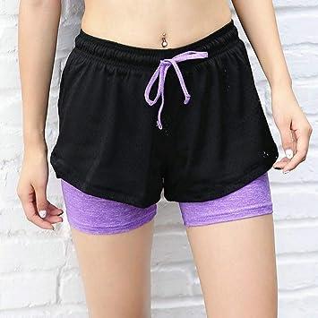 FBYYJK Pantalones De Yoga Pantalones De Yoga Mujer Malla ...