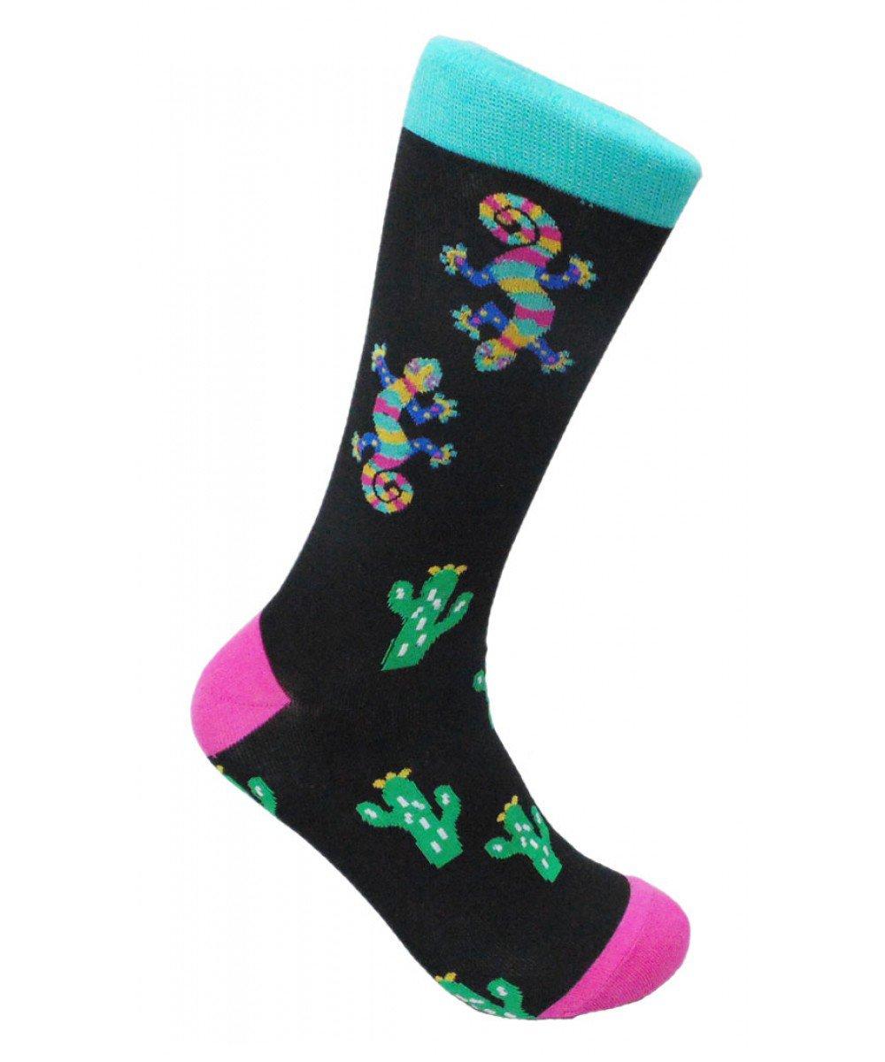 FineFit Man Cave Trouser Socks - One Size, Desert Lizard