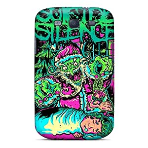 Hard Protect Phone Cases For Samsung Galaxy S3 (dxN2366hbKq) Customized Trendy Suicide Silence Pattern