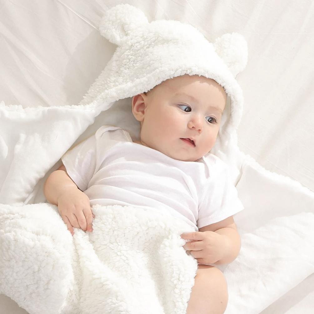 0-12 Months, Pegasus Blue Newborn Baby Sleeping Bag Boys Girls Cute Cotton Plush Receiving Blanket Wrap Swaddle Warm Receiving Blanket Sleep Sack Stroller Wrap for Baby Photography Props Bath Towel