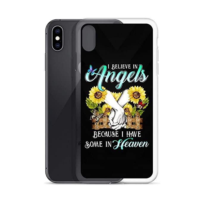 Amazon.com: Compatible for iPhone Xs Max I Believe in Angels ...