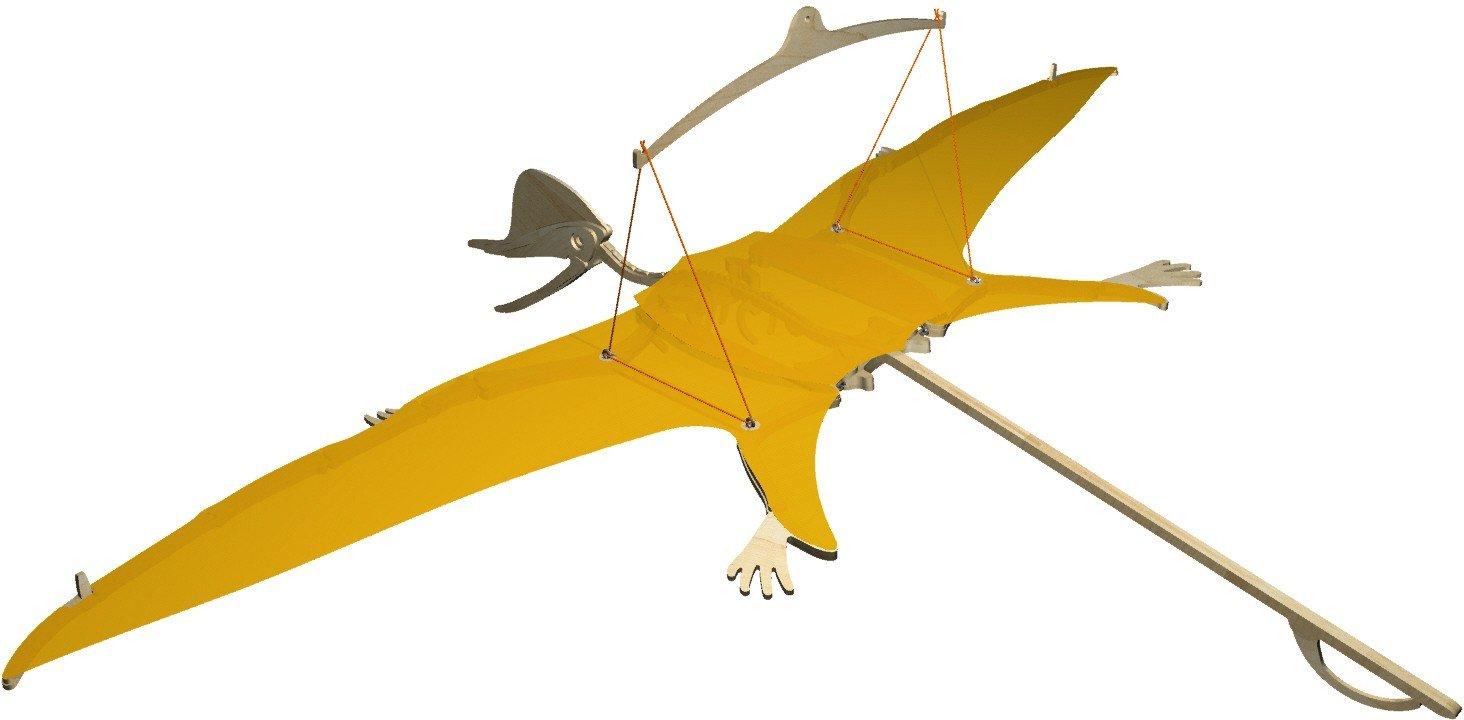 HABA Terra Kids Flying Dinosaur Assembly Kit