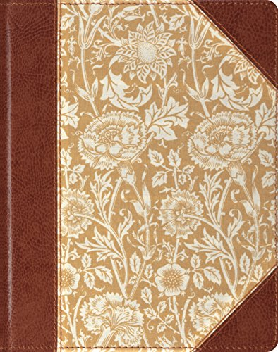 (The Holy Bible: English Standard Version, Journaling, Antique Floral, Single Column)