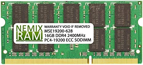NEMIX RAM 16GB DDR4-2400 2Rx8 SODIMM Memory for SUPERMICRO Motherboards